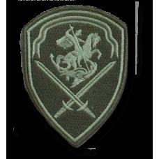 Шеврон Управления войск Национальной гвардии Ордена Красной Звезды Северо-Западного округа  на полевую форму