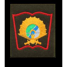 Нашивка Новосибирского высшего военного командного училища