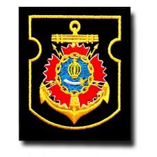 Нашивка 6-й Радиоотряд Каспийской флотилии