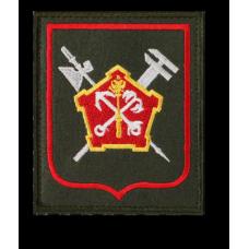 Нашивка 51 отдельной бригады материально-технического обеспечения западного военного округа