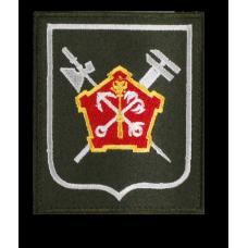 Нашивка 51 отдельной бригады материально-технического обеспечения западного военного округа для гражданского персонала