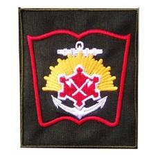 Вышитый нарукавный знак Военного инженерно-технического университета